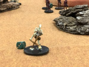 The Droid commander advances around our flank