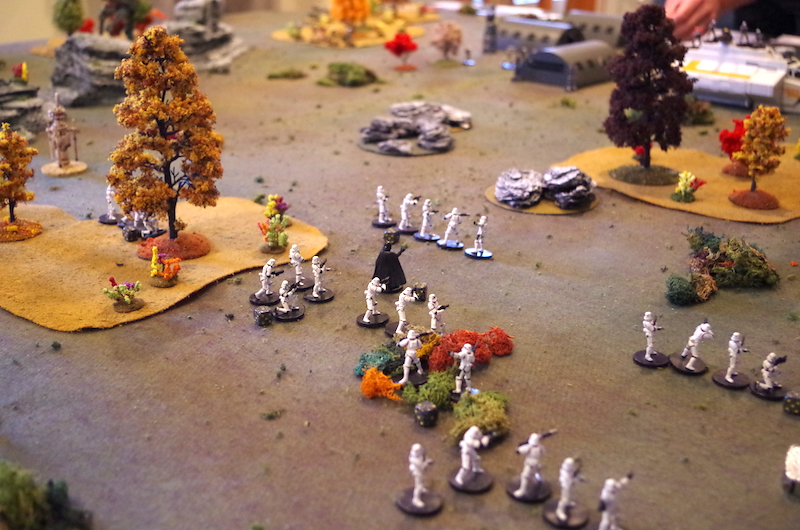 Stormtroopers advance...