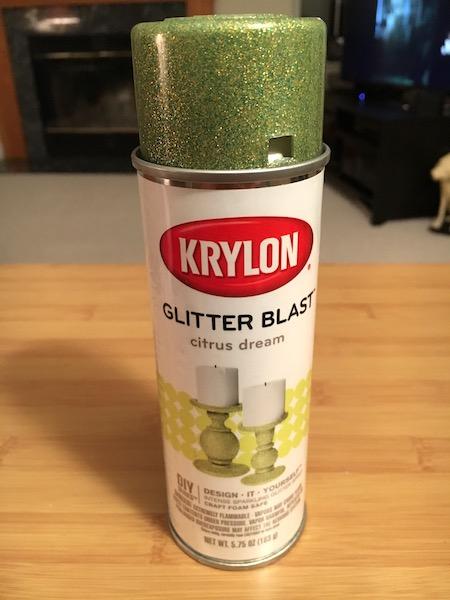 Krylon Glitter Blast spray paint