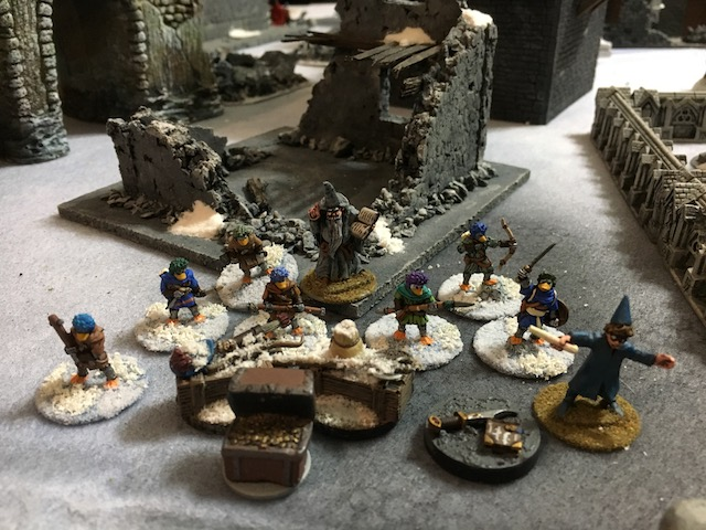 My victorious war band for Frostgrave