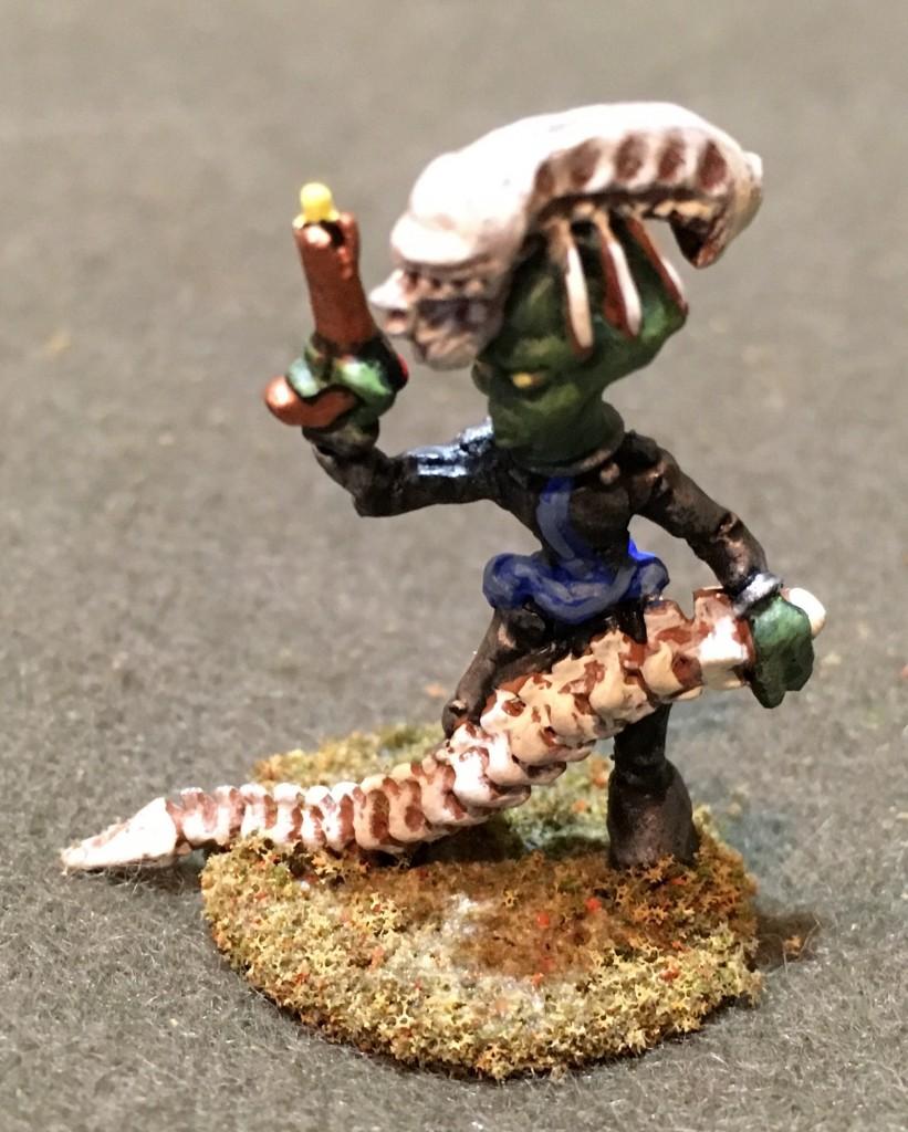 "Invader wearing Alien ""armor"""