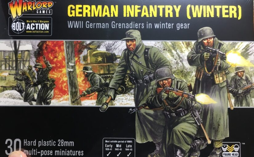 WWII Germans in Winter Kit (WIP)